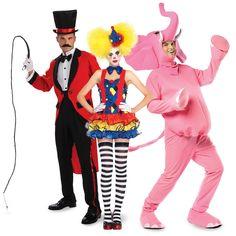 #Halloween http://www.planetgoldilocks.com/halloween/sales.html    Circus Group Costumes  #GroupCostumes   #costumes