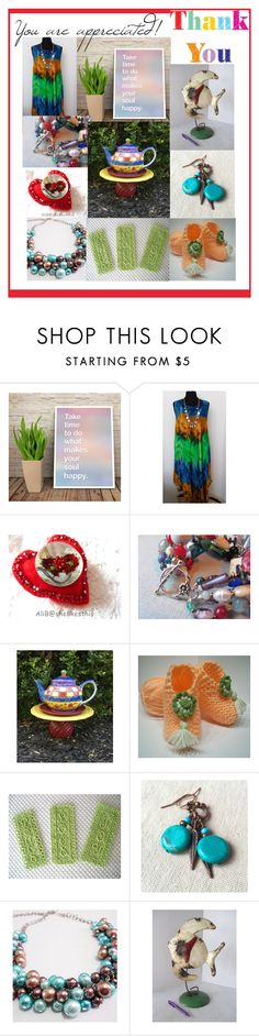 """You are appreciated!"" by imaginebaby ❤ liked on Polyvore featuring vintage"