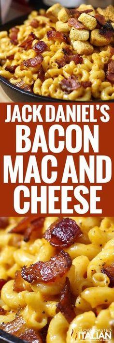 Jack Daniel's Smoky Bacon Mac and Cheese Recipe