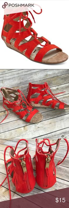 Sam & Libby Arianna Gladiator Sandals Worn once, in beautiful condition! Size 7. Sam & Libby Shoes Sandals