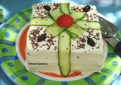 Αλμυρή τούρτα με ψωμί του τοστ συνταγή από Nέλλη Καρδαρά - Cookpad