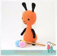 Flop Bunny CROCHET Toy PATTERN on CD Amigurumi Toy Pattern Flop Bing Inspired