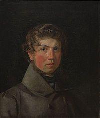 Selvportræt (ca. 1833 by Christen Købke).jpg