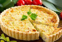Perfektný koláč so syrom a klobásou. Keď ho vyskúšate, budete ho robiť deťom na desiatu aj mužovi na raňajky