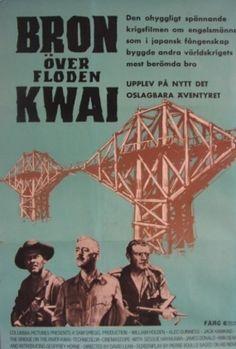 Bridge Over The River Kwai Oscar Winning Films, Over The River, Cool Pictures, Bridge, Movies, Movie Posters, Posters, Films, Bridge Pattern