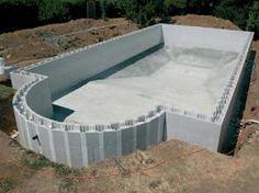 Blokit Swimming Pool Kits - DIY Swimming Pool Self Build - Insulated Block System - Pool Build