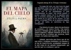 El mapa del cielo. Felix J. Palma. EduRead: #RecomiendoLeer @davidgscom Movie Posters, Movies, Maps, Book Reviews, Recommended Books, Sky, Film Poster, Films, Movie