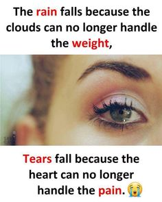 Tears are the words. Crazy Girl Quotes, Real Life Quotes, Hurt Quotes, Bff Quotes, Girly Quotes, Reality Quotes, Mood Quotes, Attitude Quotes, Relationship Quotes