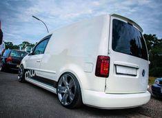 VW Caddy with Bentley wheels