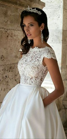 Wedding#white#gown