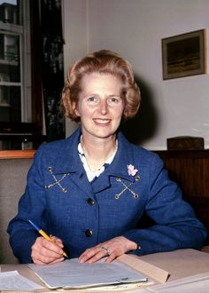 A look back in photos of Margaret Thatcher, Britain's renowned former prime minister (via The Huffington Post):  http://www.huffingtonpost.com/2013/04/08/margaret-thatcher-photos_n_3036385.html#slide=2309112