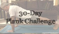 30-Day Plank Challenge. Free Printable Schedule.  #fitness #plank challenge #abs