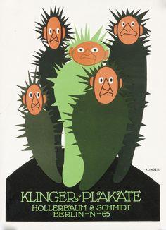 Klinger - Plakate (mini-ad) by Klinger, Julius | Shop original vintage Plakatstil #posters online: www.internationalposter.com