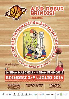 4° Torneo Internazionale di Basket U13 - campaign for Asd Robur Brindisi