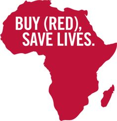 BUY (RED), SAVE LIVES