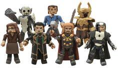 Thor 2 Movie Minimates Figures Lineup Thor Loki Malekith Darcy Heimdall Dark Elf