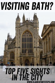 My run down of the top five things to see in historic Bath, UK! #Bath…