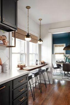 65+ Beautiful Modern Kitchen Ideas, Pictures, & Designs 2020 Part 20 ; kitchen island; kitchen ideas; kitchen cabinets; kitchen remodel; kitchen decor; kitchen backsplash ideas