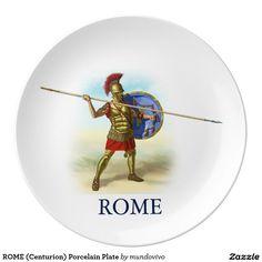 ROME Centurion Porcelain Plate