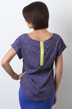 Abstract Attraction Top... cute!