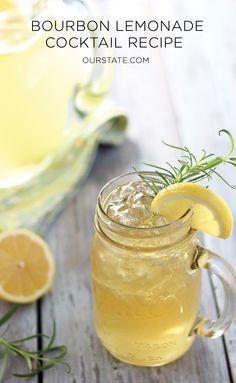 Bourbon Lemonade Cocktail Recipe   Our State Magazine