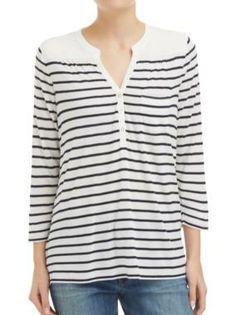 Sussan - Clothing - T-shirts & Tanks - Shirt stripe tee