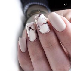 31 Stylish Marble Square Nail Designs Marble nails are a kind of nail art design which imitates the appearance of marble. Everyone can create… Shellac Nail Designs, Shellac Nails, Diy Nails, Nail Art Designs, Marble Nail Designs, Nails Design, Nail Polish, Acrylic Nails Natural, Best Acrylic Nails