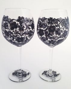 Painted wine glasses, must do this! | your-craft.co
