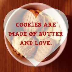 June 12th is National Peanut Butter Cookie Day. The most important ingredients. #butter #love  Have a cookie for coffee break today! Let us know how it went for you in the ministry!