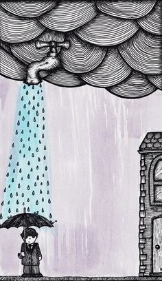 A Drop Of Rain Art Print by ell.em.ee | Society6