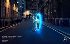 Print ads for Mercedes Benz | Collision Prevention Assist