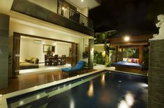 3 Bedroom Villa Seminyak, Night View