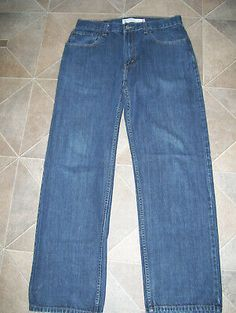 """G-Star Raw Mens Boys 3301 Tappered Jeans 26/"""" x 34/"""" BNWT Matrix Denim Dark Aged"""
