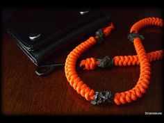 A two-strand wall knot sinnet lanyard video tutorial