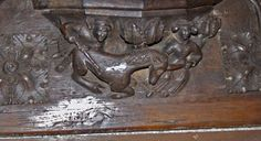 Country: Great Britain Site: Greystoke, Church, St.-Andrew Sequence: S-8 Subject: Animal, Fantastic: Unicorn and Virgin Date: 14c. - 17c.