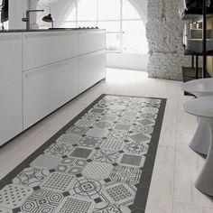 decoracion moderna con suelo hidraulico - Buscar con Google Tile Floor, Flooring, Rugs, Design, Home Decor, Carpets, Google, Condo, Kitchens
