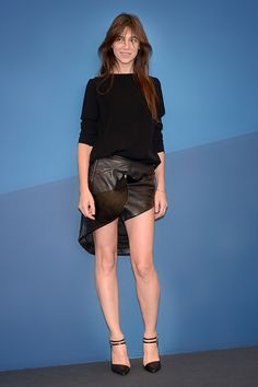 Charlotte Gainsbourg en Anthony Vaccarello