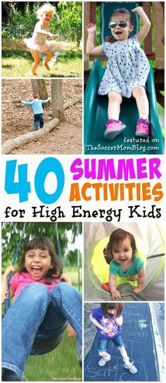 These 25 Summer Kids Activities are sure to get the entire family moving, playing, and learning! Indoor and outdoor games help kids practice gross motor skills, coordination, and even challenge the mind! #kidsactivities #summer