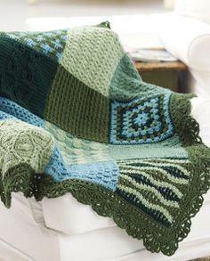 Free Little Bit of Everything Afghan Crochet Pattern