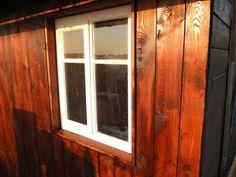 Laube renovieren Aussenwand erneuern Fenster eingebaut