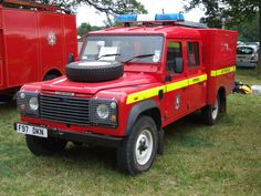 Land Rover fire and Rescue | by classic vehicles