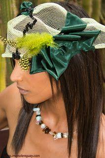 Marilin Nova Designs: Tocado (headdress)