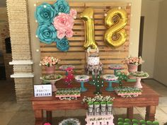 Ideas For Birthday Party Ideas Decoration Birthday Party Snacks, 18th Birthday Party, Birthday Diy, Birthday Wishes, Girl Birthday, Birthday Ideas, Diy Birthday Decorations, Decoration Party, Birthday Presents For Mom