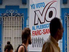 Colombia rechazó en las urnas, un apretado plebiscito, el histórico acuerdo de paz logrado y firmado entre el Gobierno y la guerrilla de las FARC