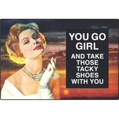 Tacky Shoes