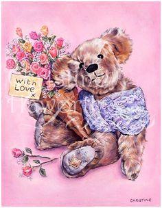 2ae62943e3ae32a89e2cd3752b863b4d--bear-illustration-bear-hugs.jpg (516×666)