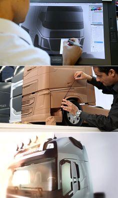 Design Behind new Volvo FH Truck