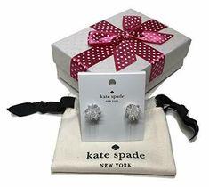 Kate Spade New York Women's Earrings Flying Colors Clear Statement Earrings, Women's Earrings, Kate Spade Earrings, Studs, York, Colors, Ebay, Stud Earring, Colour