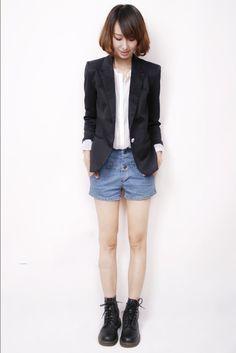 Nova blazer mulheres suit blazer jaqueta marca dobrável feito de algodão e elastano com forro Vogue atualizar blazers em Blazers de Moda e Acessórios no AliExpress.com | Alibaba Group