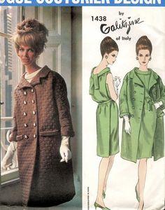 Vogue Couturier 1438 Galitzine Evening Dress and Coat